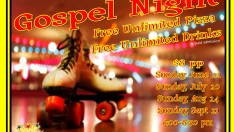 Gospel Skate with FREE pizza and drinks at Starlite in Stockbridge