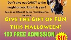 Give away free roller skating passes for Starlite of Sharpsburg/Newnan or Stockbridge