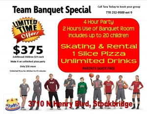 team banquet special stockbridge