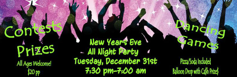 all night new years stock web