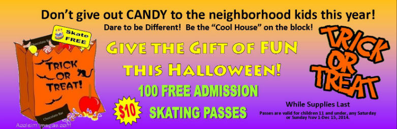 Free Admission Passes for Halloween