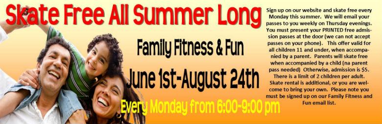 family fitness stock web