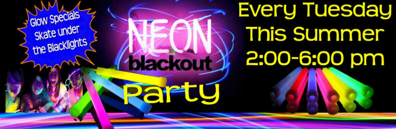 blackout party for web stock