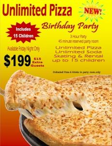 friday night pizza party